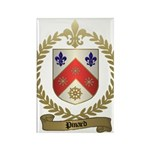 PINARD Family Crest Rectangle Magnet