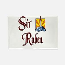 Sir Ruben Rectangle Magnet