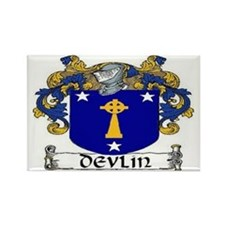Devlin Coat of Arms Rectangle Magnet (10 pack)