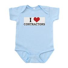 I Love Contractors Infant Creeper