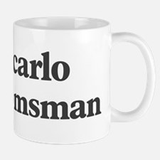 Giancarlo the groomsman Mug