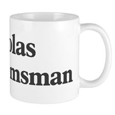 Nicolas the groomsman Mug