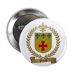 PLANTE Family Crest Button