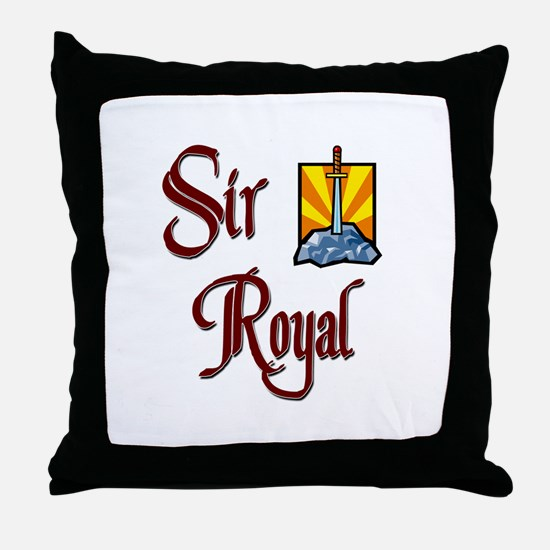 Sir Royal Throw Pillow