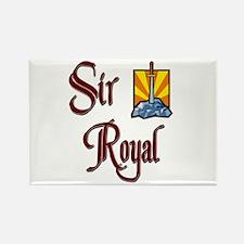 Sir Royal Rectangle Magnet
