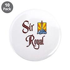 "Sir Royal 3.5"" Button (10 pack)"