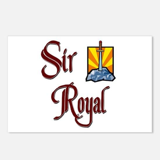 Sir Royal Postcards (Package of 8)