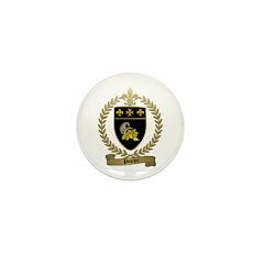POIRIER Family Crest Mini Button (100 pack)