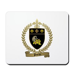 POIRIER Family Crest Mousepad