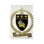 POIRIER Family Crest Rectangle Magnet (100 pack)