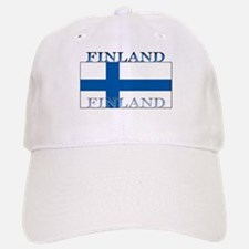 Finland Finish Flag Baseball Baseball Cap