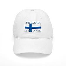 Finland Finish Flag Baseball Cap