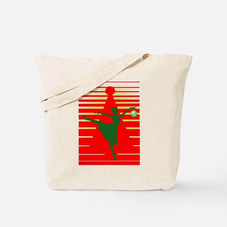 Christmas Ballerina Tote Bag