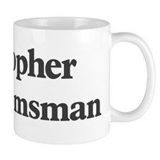 Cristopher the groomsman Mug