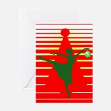 Christmas Ballerina Greeting Cards (Pk of 10)