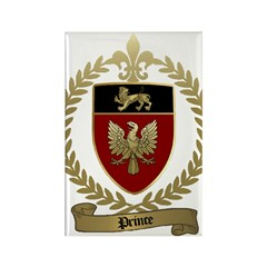 PRINCE Family Crest Rectangle Magnet (10 pack)