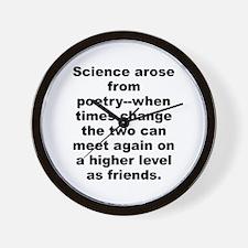 Funny Pro science Wall Clock