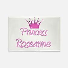Princess Roseanne Rectangle Magnet