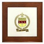 PRONOVOST Family Crest Framed Tile