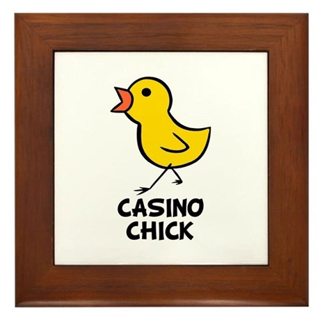 Chick Framed Tile