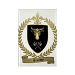 RACETTE Family Crest Rectangle Magnet