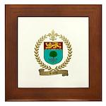 RACINE Family Crest Framed Tile