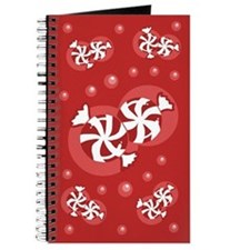 Peppermint Christmas Candy Journal