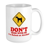 Airedales Large Mugs (15 oz)