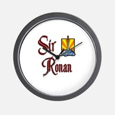 Sir Ronan Wall Clock