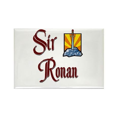 Sir Ronan Rectangle Magnet