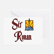 Sir Ronan Greeting Card