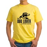 DOG LOVER Yellow T-Shirt