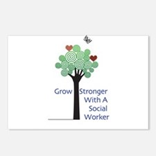 Social Workers Strong Postcards (Package of 8)