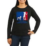 Ambullneo Mastiff Women's Long Sleeve Dark T-Shirt
