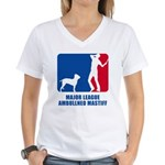 Ambullneo Mastiff Women's V-Neck T-Shirt