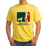 Ambullneo Mastiff Yellow T-Shirt
