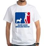 Ambullneo Mastiff White T-Shirt