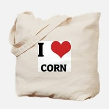 I Love Corn Tote Bag
