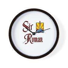 Sir Roman Wall Clock