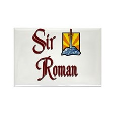 Sir Roman Rectangle Magnet