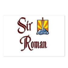 Sir Roman Postcards (Package of 8)