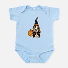 Halloween Basset Hound Infant Bodysuit