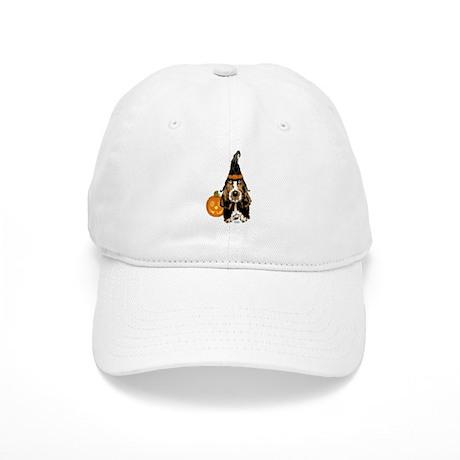 Halloween Basset Hound Cap