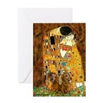The Kiss/Two Dachshunds Greeting Card