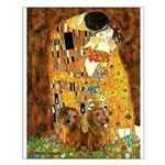 The Kiss/Two Dachshunds Small Poster