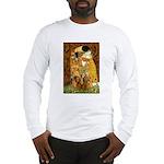 The Kiss/Two Dachshunds Long Sleeve T-Shirt