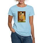 The Kiss/Two Dachshunds Women's Light T-Shirt