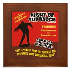 Night Of The RAOGK Framed Tile