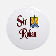 Sir Rohan Ornament (Round)