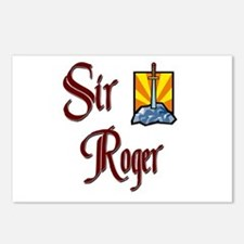 Sir Roger Postcards (Package of 8)